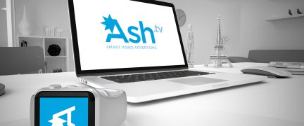 Ash TV Logo Design