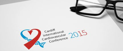 Cardiff International Cardiovascular Conference Logo Design