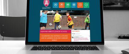 Hanham Abbots Junior School Web Design and Development