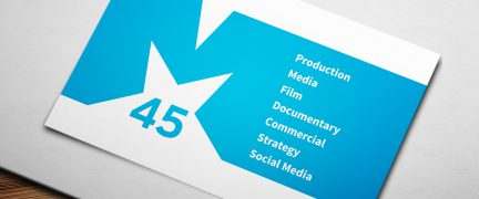 M45 Logo and Business Card Design