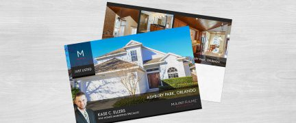Mainframe Real Estate Just Listed Card Design