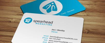 Spearhead Logo and Business Card Design