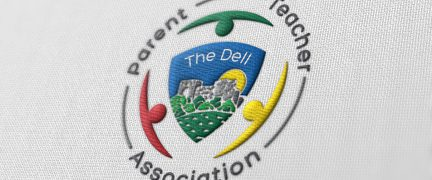 The Dell PTA Logo Design