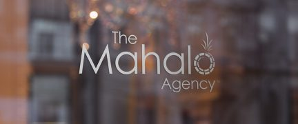 The Mahalo Agency Logo Design